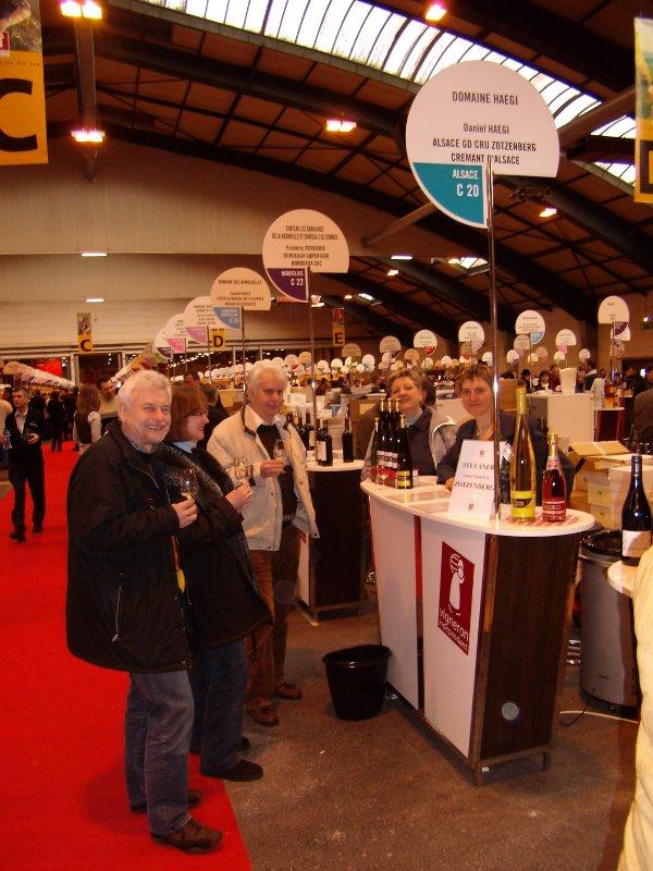 Les salons domaine haegi - Salon des vignerons independants strasbourg ...
